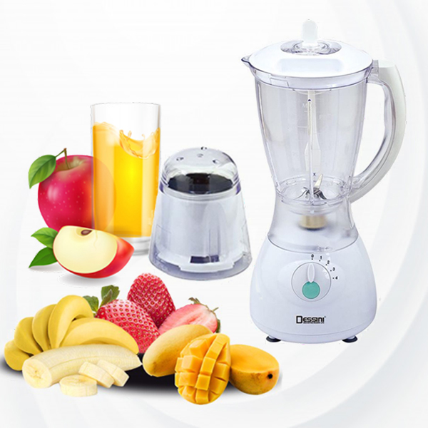 Dessini 2 In 1 Blender And Grinder - White