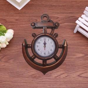 Creative Design Fashion Living Room Wall Clock - Brown