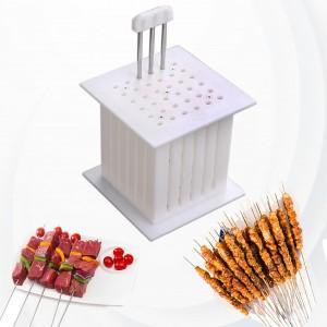 36 Skewer BBQ Easy Kebab Maker Box - White