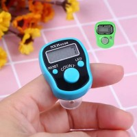 2 PCs LED Digital Finger Ring Counter Tally Tasbeeh - Multi Color