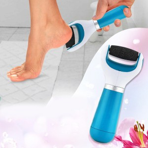 Cordless Electric Callus Remover Roller - Blue