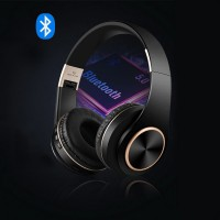 High Quality Sound Ear Comfort Wireless Headphone - Black