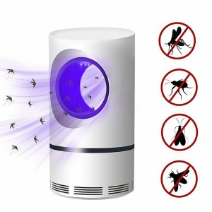 Mosquito Killer USB LED Light Lamp Pest Control - White