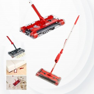 Swivel Sweeper Cordless Vacuum Cleaner - Red
