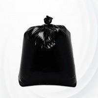 20 Pcs Heavy Duty Garbage Bags - Black