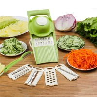 Multifunctional Vegetable Shredding Planer Slicer - Green