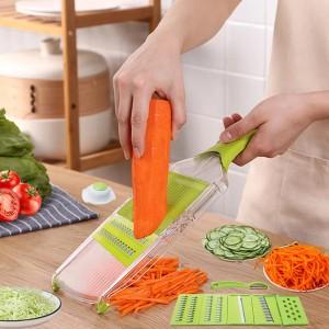 Multifunctional Vegetable Shredding Planer Slicer - Green