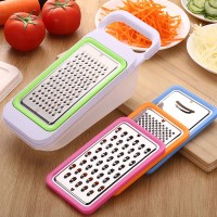 4 In 1 Multi Functional Fruit And Vegetable Grater Slicer - Multi Color