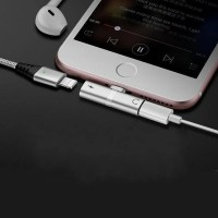 4 In 1 Lightning Adapter For Iphone - Silver