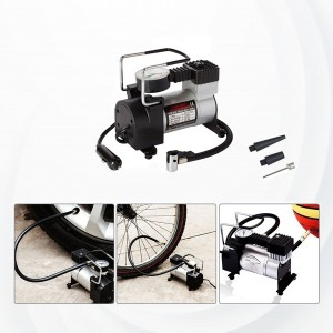 Electric Air Pump For Household And Vehicle - Black