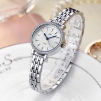 Women Steel Quartz Watch - Silver