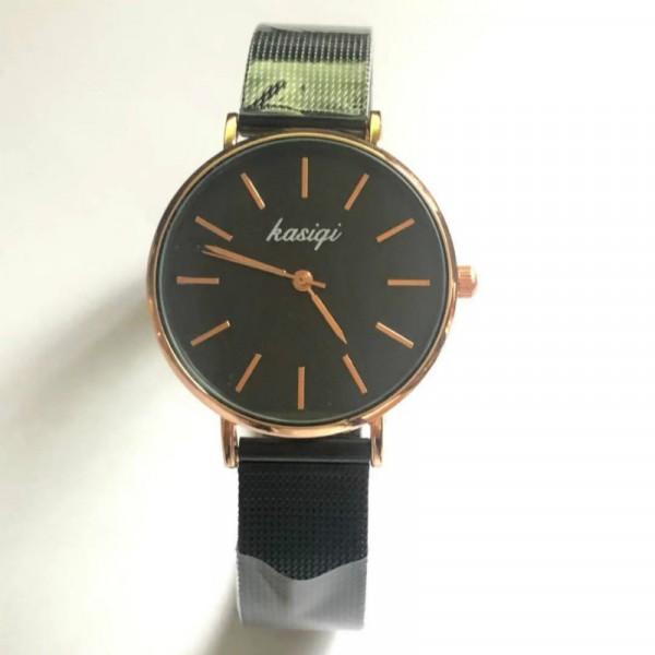 Girls Casual Classic Minimalist Watch - Black