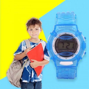 Electronic Watch For Kids - Blue