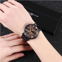 Woman Casual Electronic Watch - Black