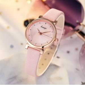 Student Fashion Leisure Electronic Watch - Pink