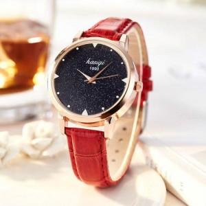 Women's Trendy Wild Quartz Watch - Red