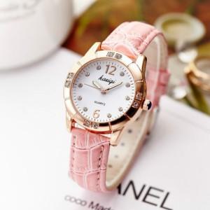 Women Student Quartz Luxury Casual Watch - Pink