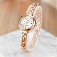 New Arrival Fashion Steel Band Bracelet Watch - Golden