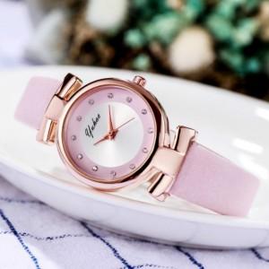 Women's Personalized Leisure Electronic Quartz Watch - Pink