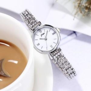 Women Fashion Bracelet Wild Stylish Watch - Silver