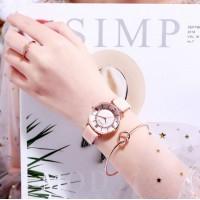 New Style Women Fashion Luxury Watch - Pink