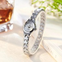 Women's Strap Small Electronic Quartz Watch - Silver