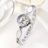 Women's Individual Steel Band Quartz Watch - Silver