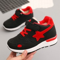 Velvet Boys And Girls Sport Shoes - Black