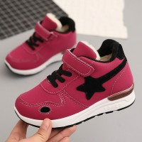 Velvet Boys And Girls Sport Shoes - Rose