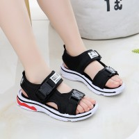 Children's Fashion Classic Non Slip Sandals Beach Shoes  - Black