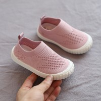 Kids Wear Canvas Soft Sport Comfortable Shoes - Pink