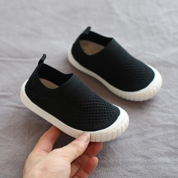 Kids wear canvas soft sport comfortable Shoes - Black