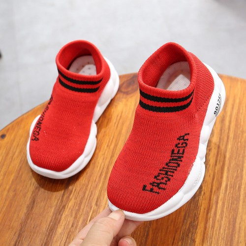 Kids Wear Canvas Soft Sport Comfortable Shoes - Red