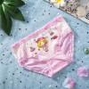 4 Pcs Kids Cotton Cartoon Panties - Multi Color