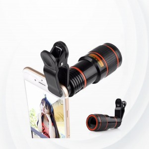 Universal 8x Zoom Telescope Mobile Phone Camera Lens