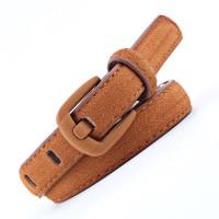 Ladies Trendy Decoration Wild Belt - Brown
