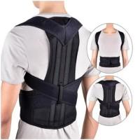 Adjustable Adult Corest Back Posture Corrector - Black