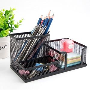 Creative Design Multifunctional Pen Holder - Black