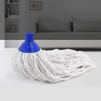 Top Quality Cotton Mop Replace Head - White Blue