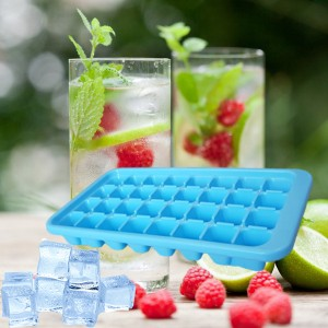 Durable Easy Twist 32 Cubes Ice Tray - Blue