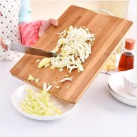 Wooden Vegetable Cutting Board - Brown