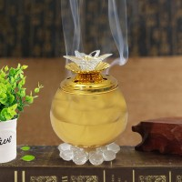Classic Perfect Incense Oud Burner - Golden
