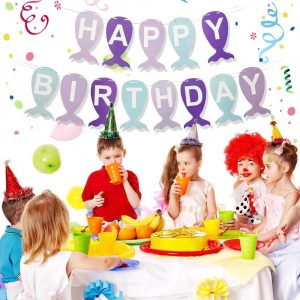 13 Pcs Birthday Party Letters Set Decoration