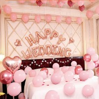 37 Pcs Wedding Party Romantic Set - Pink