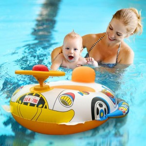 Children Inflatable Float Swim Ring - Multi Color