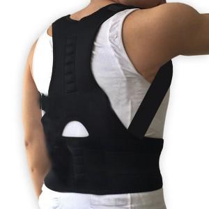 Lumbar Spine Performance Pro Corrector Back - Black