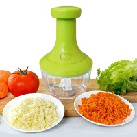 Food Processor Fruit And Vegetable Cutter Chopper - Green