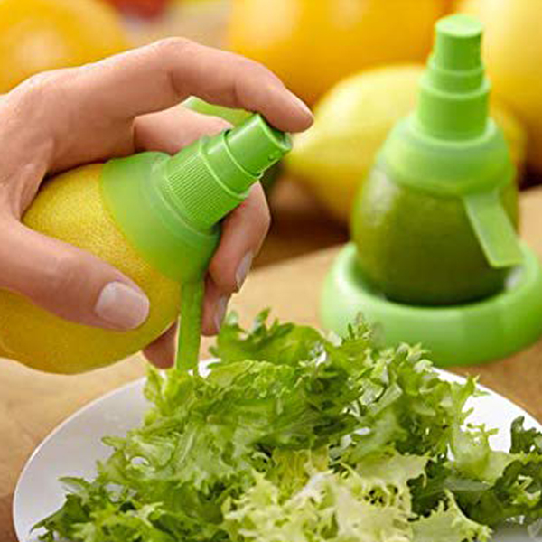 Lemon Juice Sprayer Mini Squeezer Set - Green