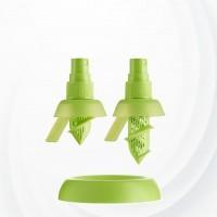 Lemon Juice Sprayer Mini Squeezer Set - Green