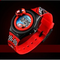 kids Car Model Electronic Watch - Red